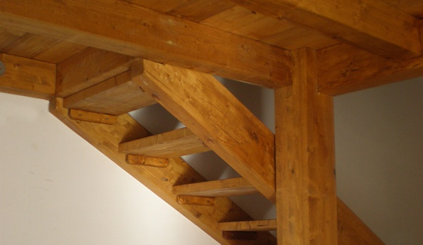 come fare solaio in legno in una piccola stanza : ... ) ottenuta interponendo un solaio orizzontale in uno spazio chiuso