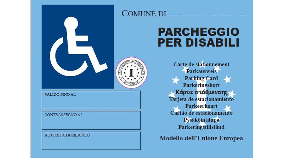 Pass disabili scadono come le patenti di guida polizialocale - Sedie per portatori di handicap ...