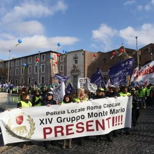 polizia-locale-roma-sciopero